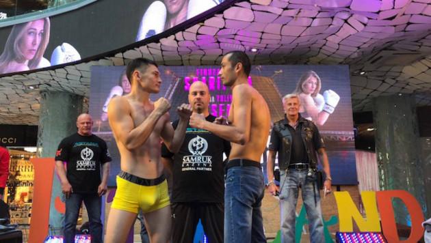 Казахстанец Амантаев дебютировал в профи с победы над узбекским боксером