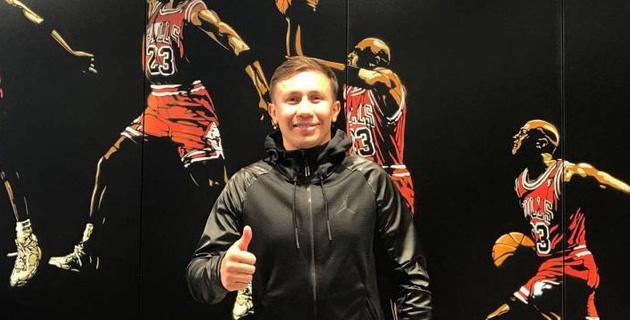 """Головкин представил новую коллекцию от Jordan в его честь перед реваншем с """"Канело"""""""