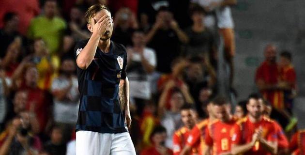 Сборная Испании со счетом 6:0 разгромила финалиста ЧМ-2018 в матче Лиги наций