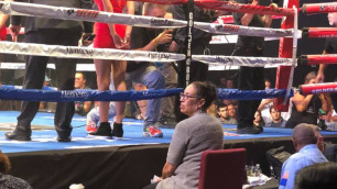 """Скандальная судья боя Головкин - """"Канело"""" отработала на поединке казахстанца из GGG Promotions, проигравшего впервые в карьере"""