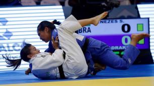 Галбадрах Отгонцэцэг принесла Казахстану первую медаль на чемпионате мира по дзюдо