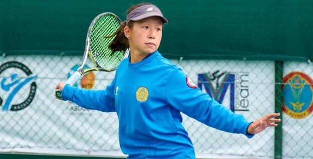 Казахстанская теннисистка стала второй на турнире Tennis Europe в Минске