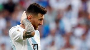 Тренер сборной Аргентины решил не вызывать Месси на ближайшие матчи