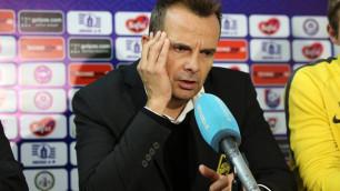 """В этом чемпионате происходят странные ситуации, которые мне не нравятся - тренер """"Кайрата"""""""