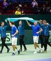 Стали известны потенциальные соперники казахстанских теннисистов в квалификации Кубка Дэвиса