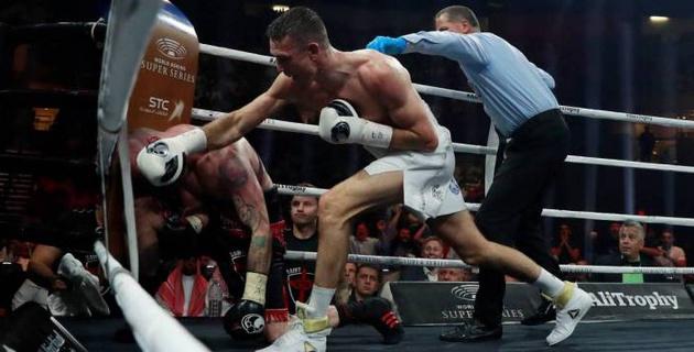 Видео боя, или как небитый британец нокаутировал бывшего спарринг-партнера Головкина в финале WBSS