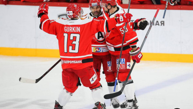 Найджел Доус забросил победную шайбу и помог новой команде выиграть 12-й матч подряд в КХЛ