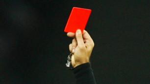 Футболист сломал судье нос за красную карточку и получил пожизненную дисквалификацию