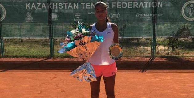 Казахстанская теннисистка дошла до финала турнира ITF в Шымкенте