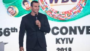 Владимиру Кличко вручили единственный не доставшийся ему титул