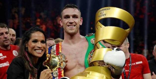 Первый победитель Всемирной боксерской суперсерии вызвал на бой Головкина