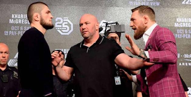 Президент UFC сделал прогноз на PPV-продажи боя МакГрегор - Нурмагомедов