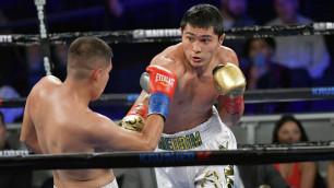 Казахстанский нокаутер среднего веса получил на первый титульный бой американца с 15 победами