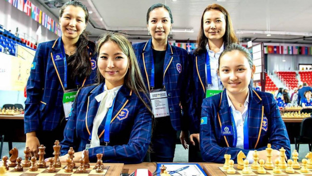 Женская сборная Казахстана заняла 11-е место на шахматной Олимпиаде