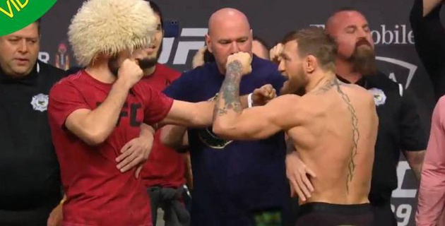 Прямая трансляция боя года в UFC МакГрегор - Нурмагомедов