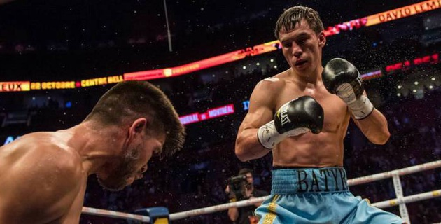 Казахстанец Батыр Джукембаев встал после нокдауна и нокаутировал мексиканца с 20 победами