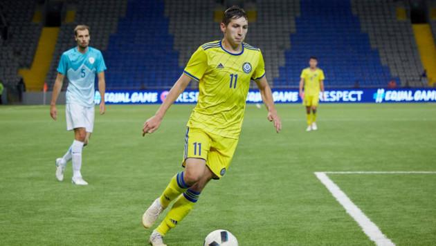 Сборная Казахстана произвела замену в составе перед матчами Лиги наций