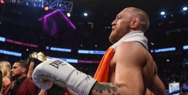 МакГрегор после поражения от Нурмагомедова задумал перейти в бокс и выбрал соперника