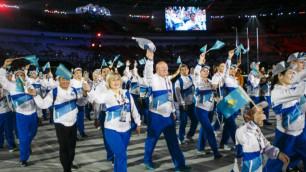 """Казахстан завоевал сразу два """"золота"""" в плавании на Азиатских Параиграх-2018"""