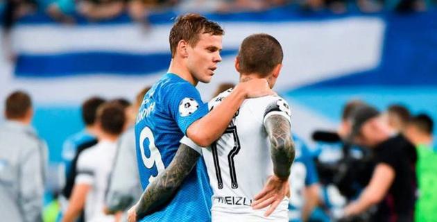 Кокорина и Мамаева захотели навечно лишить футбола за избиение водителя и чиновника