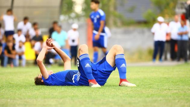 Юношеская сборная Казахстана пропустила десять мячей от Португалии на старте отбора на Евро-2019