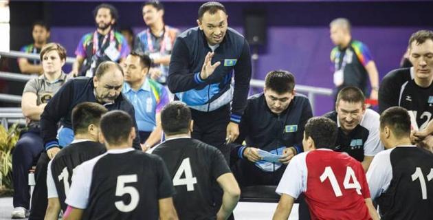 Сборная Казахстана по волейболу завоевала медаль на Азиатских Параиграх-2018