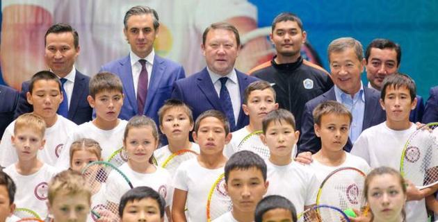 В Петропавловске открылся новый теннисный центр