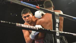 Прямая трансляция первого титульного боя казахстанского боксера Нурсултанова в США