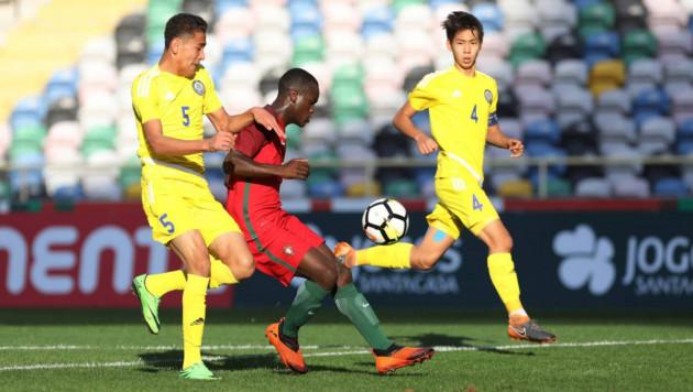 Юношеская сборная Казахстана по футболу после 0:10 от Португалии победила Уэльс