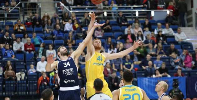"""Баскетболисты """"Астаны"""" одержали первую победу в сезоне"""
