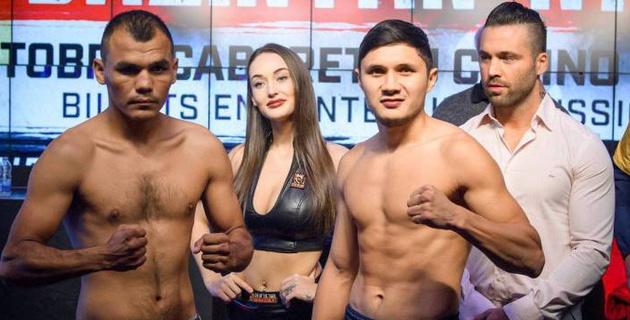 Казахстанский боксер нокаутировал мексиканца и выиграл девятый бой в профи