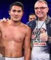Казахстанский боксер отправил американца в нокдаун и выиграл первый в карьере титульный бой в США