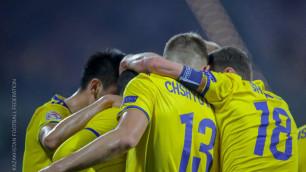 Казахстанские футболисты после матча с Латвией покинули последнее место в группе Лиги наций