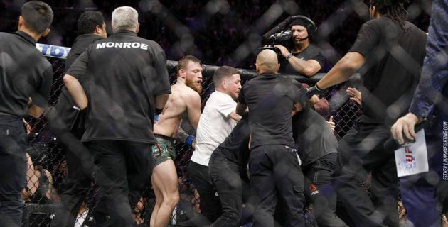 UFC нашел замену участнику драки из команды Нурмагомедова после боя с МакГрегором