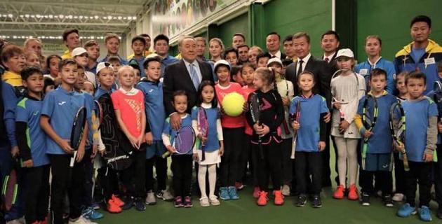 В Актобе открылся новый теннисный центр