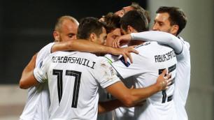Сборная Грузии досрочно выиграла группу Казахстана в Лиге наций