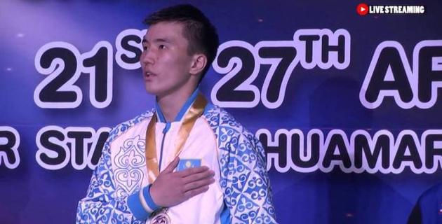 Чемпион Азии из Казахстана нокаутировал соперника и вышел в финал юношеской Олимпиады-2018