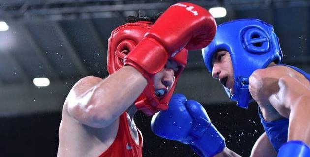 Прямая трансляция финальных боев казахстанских боксеров на юношеской Олимпиаде