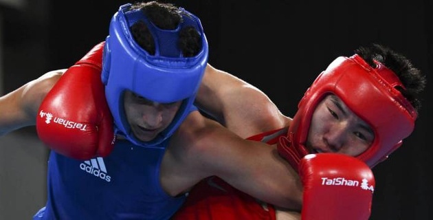 Прямая трансляция третьего финального боя юношеской Олимпиады с участием казахстанского боксера