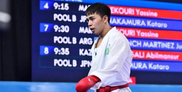 Казахстанский каратист выиграл медаль на юношеской Олимпиаде
