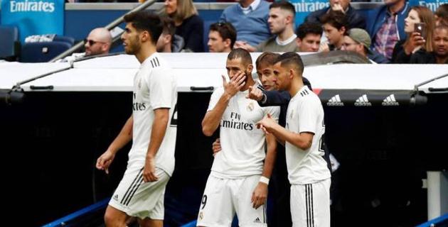 """""""Реал"""" проиграл в матче с тремя отмененными голами и продлил серию без побед до пяти игр"""