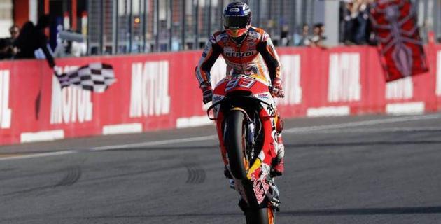 Мотогонщик из Испании досрочно стал пятикратным чемпионом MotoGP