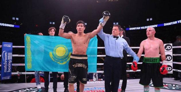 Данияр Елеусинов поднялся в мировом рейтинге после досрочной победы над американцем
