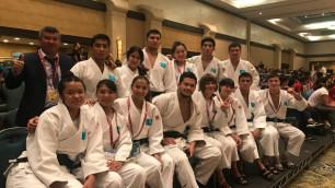 Казахстан выиграл медаль в командных соревнованиях на чемпионате мира по дзюдо среди молодежи