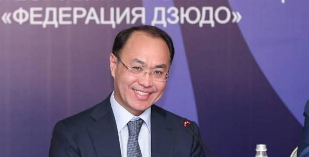 Генпрокурор Казахстана возглавил Федерацию дзюдо