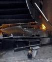 Появилось видео обрушения эскалатора с российскими фанатами в римском метро перед матчем Лиги чемпионов