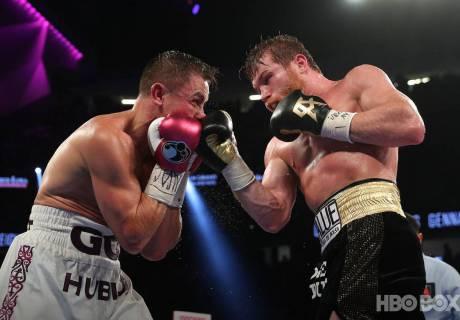 Второй бой Головкин - Альварес. Фото HBO Boxing