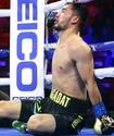 Выступающий в США казахстанский боксер побывал в нокдауне и впервые проиграл в профи