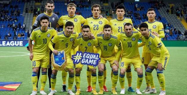 Сборная Казахстана по футболу назвала состав на матчи Лиги наций против Латвии и Грузии