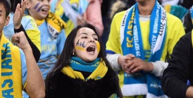 """После победы """"Астаны"""" в матче Лиги Европы Казахстан поднялся в рейтинге УЕФА"""